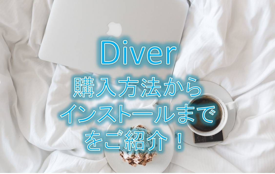 DIVER!購入方法からインストールまでご紹介